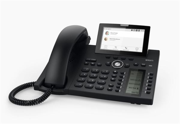 SNOM D385 Enterprise IP Phone Black
