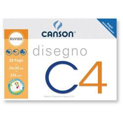 Canson ALBUM C4  4ANG 24X33CM 224G