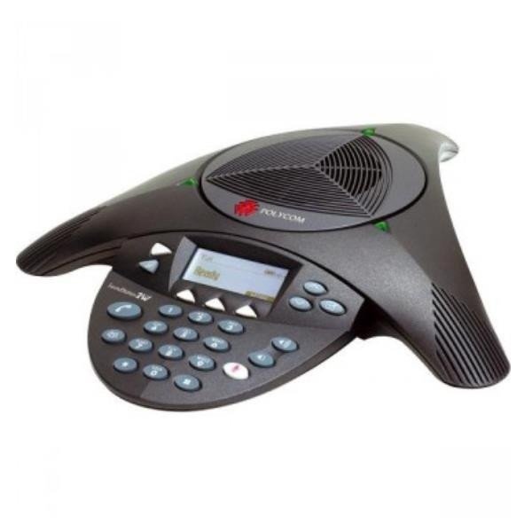 Poly SOUNDSTATION2 CONFERENCE PHONE EXPANDABLE W/DISPLAY