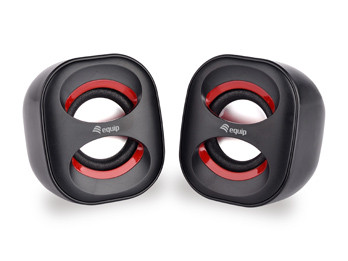 Conceptronic EQUIP MINI USB SPEAKER 2.0, 6W, jack 3.5mm