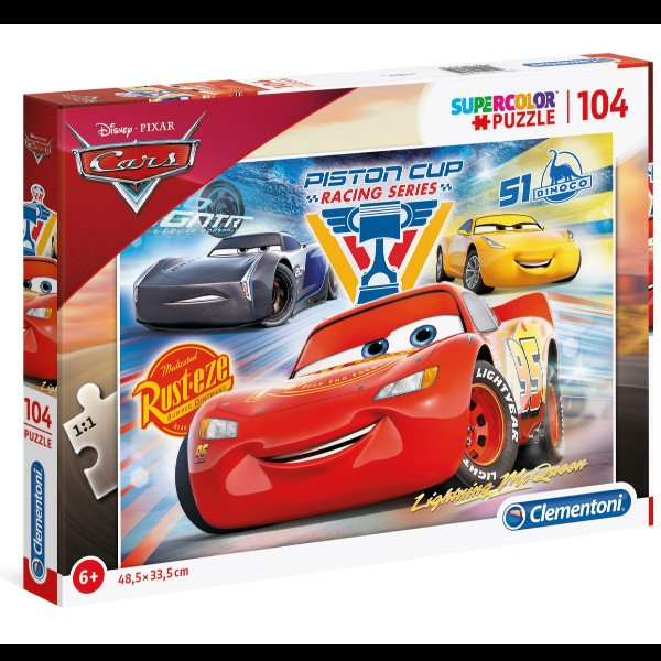 Clementoni 104 - CARS: PISTON CUP LEGENDS