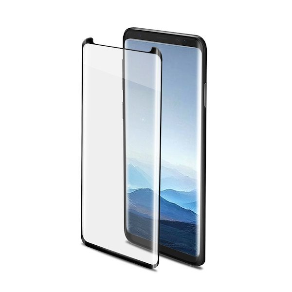 Celly 3D GLASS GALAXY NOTE 9/NOTE 8 BLACK