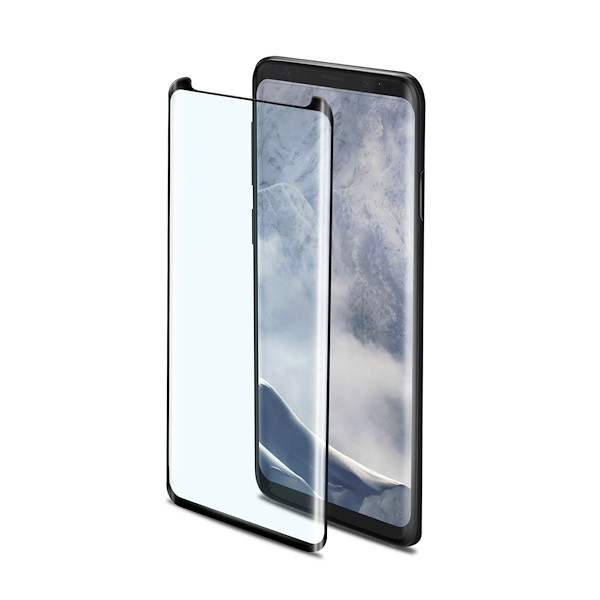 Celly 3D GLASS GALAXY S9+ BLACK