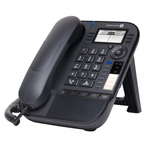 Alcatel 8018 DESKPHONE MOON GREY  NOE-SIP Ip Phones