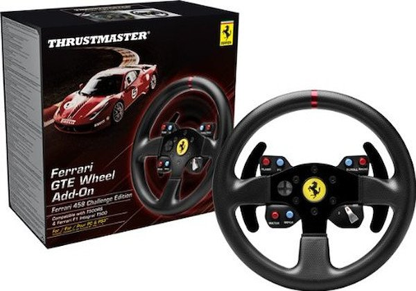 Thurstmaster FERRARI GTE F458 WHEEL ADD-ON