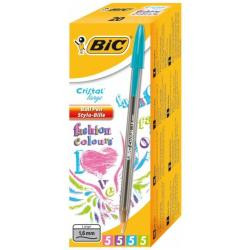 Bic CRISTAL FASHION INK CF20PENNE 1.6 FASHIONINK AS Nero