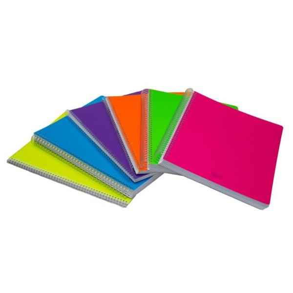 Scatto 975 CF3 QUADERNO SPIRALE 5MM 140F FLUO