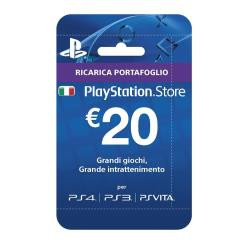 Sony PLAYSTATION LIVE CARDS HANG 20 EURO Gift Card Sony
