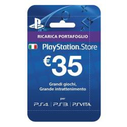 Sony PLAYSTATION LIVE CARDS HANG 35 EURO Gift Card Sony