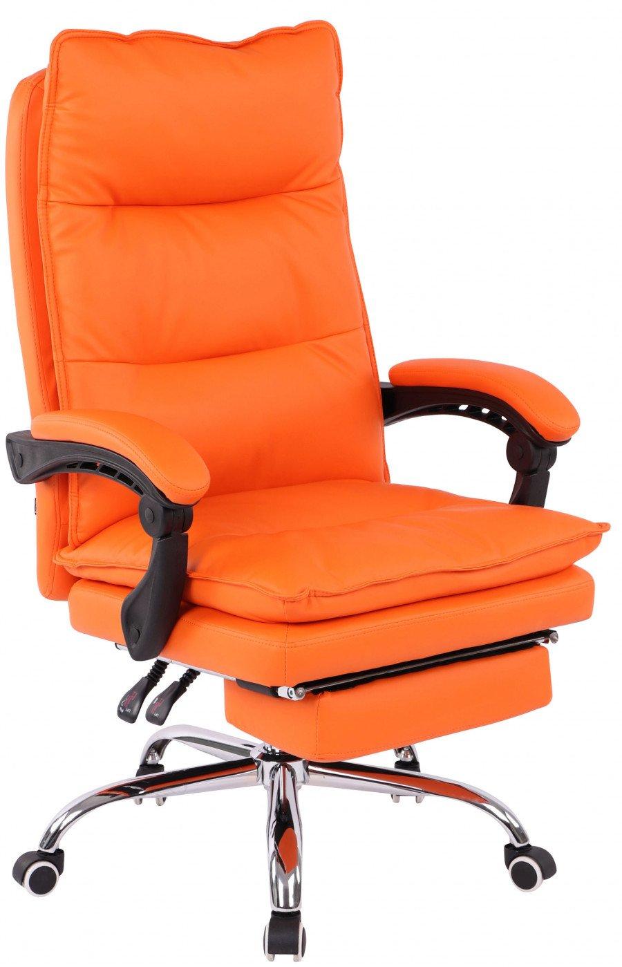 Sedie Da Ufficio Arancione.Clp Arredo E Complementi Sedia Da Ufficio Power Similpelle