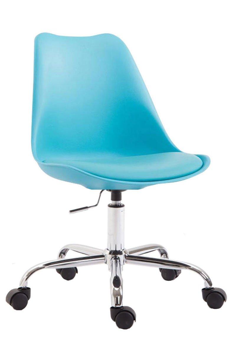 Sedie Da Ufficio Plastica.Clp Sedia Da Ufficio Toulouse Plastica Blu Epto