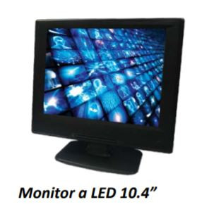 Ganz DSH10.4LED MONITOR LED 10.4