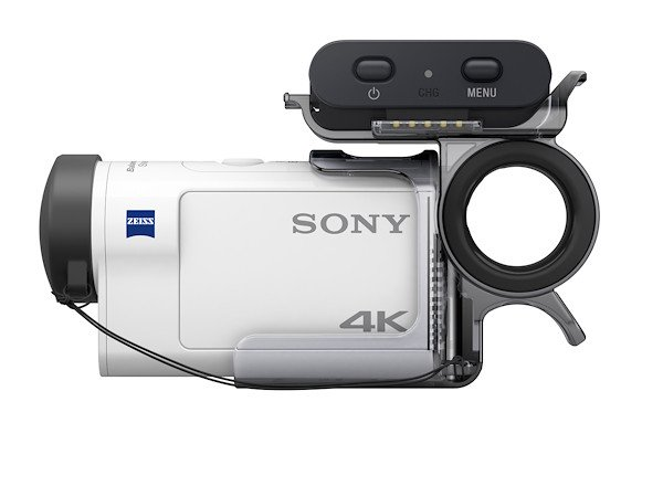Sony FDR-X3000 ACTION CAMERA 4K BIANCA Videocamere Flash Memory