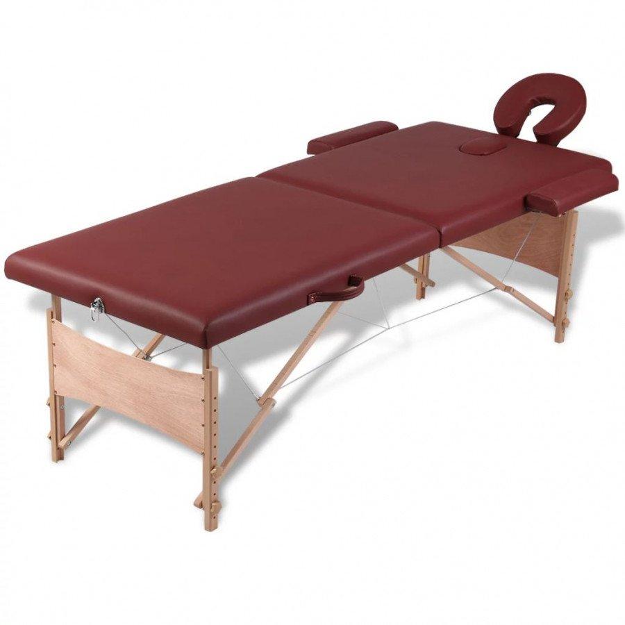 Lettino da massaggio in legno usato for Arredamento estetista usato