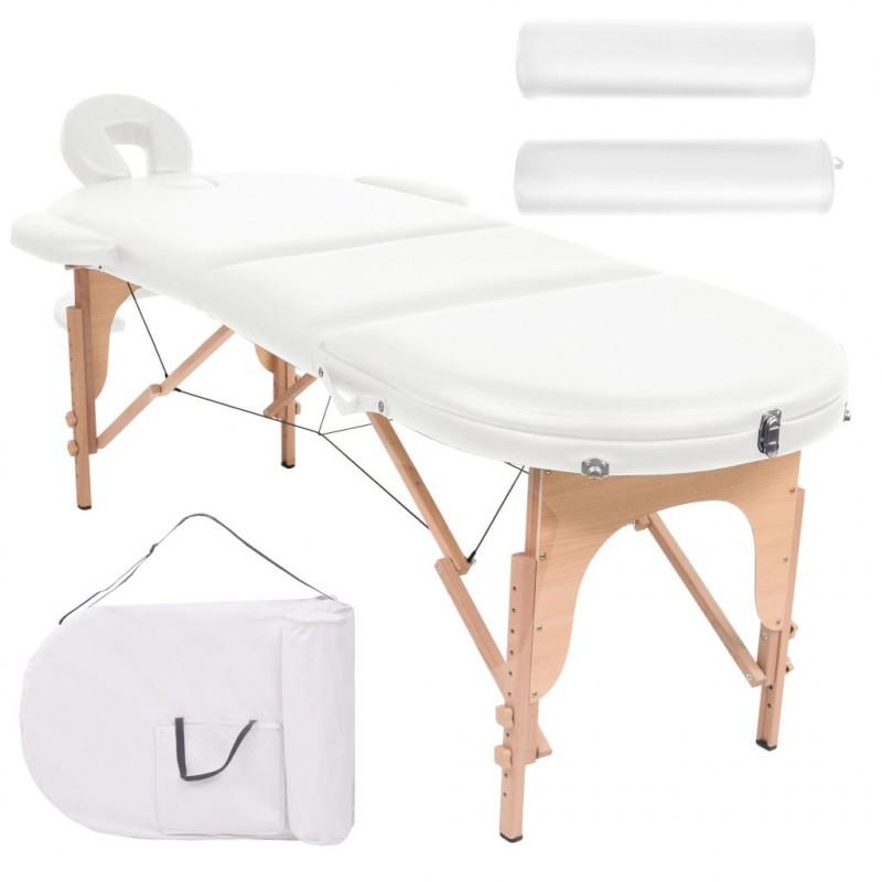 Lettino Massaggio Professionale Pieghevole.Vidaxl Arredo E Complementi Lettino Massaggio Pieghevole 10 Cm 2