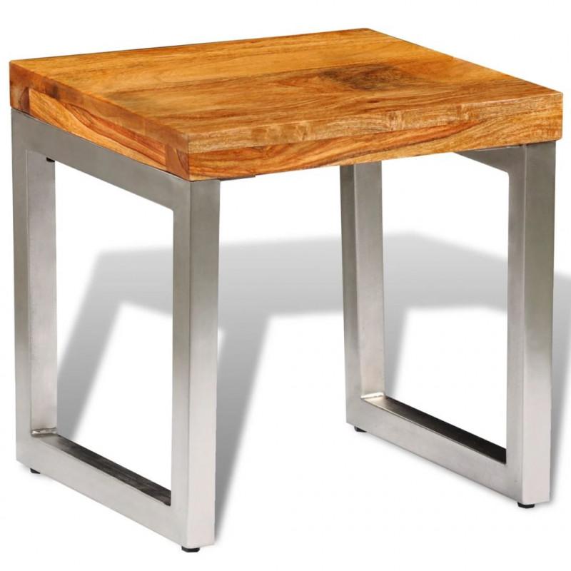 VidaXL Tavolino da caffè in legno massello di sheesham - Epto