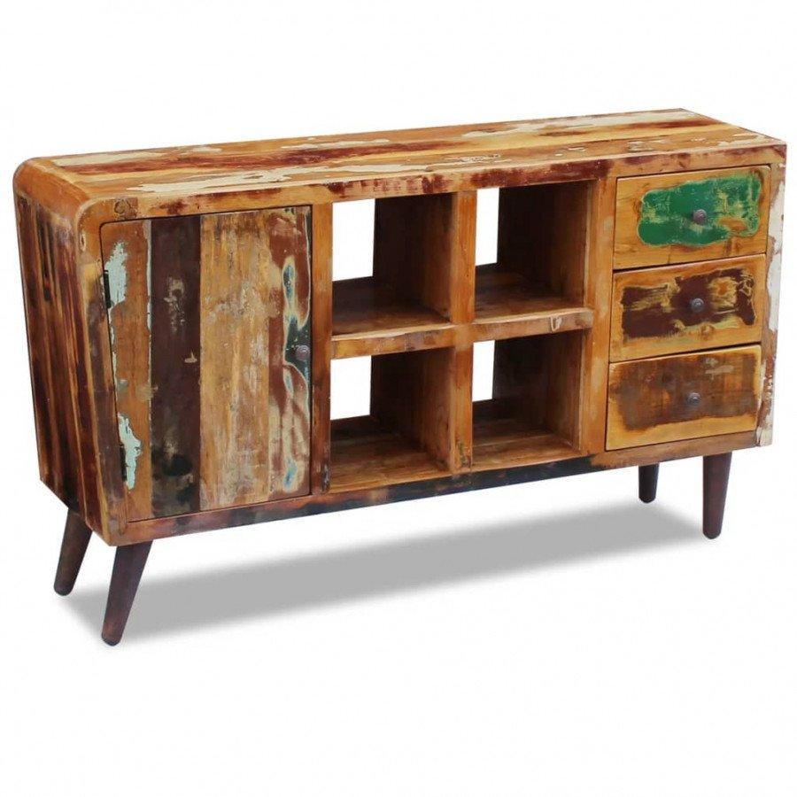 VidaXL - Arredamento Casa Credenza in legno massello di recupero ...