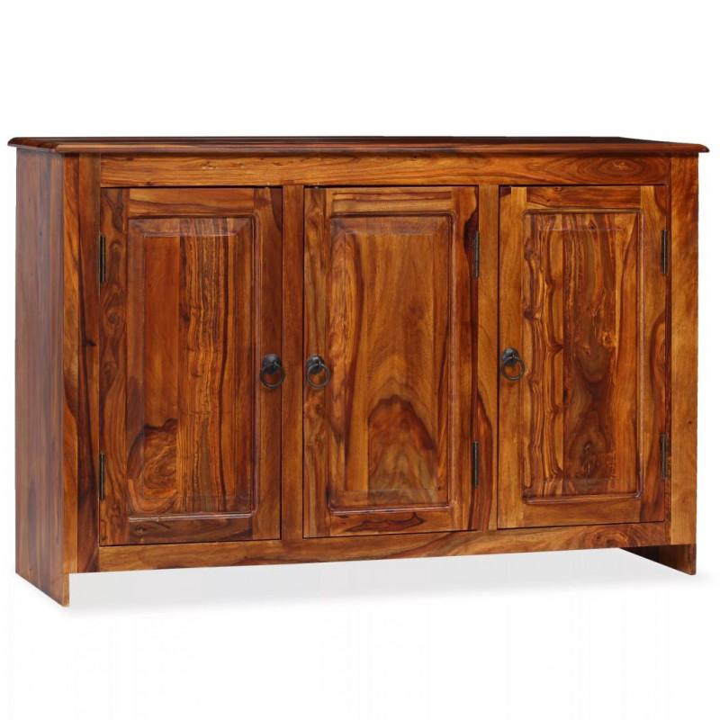 VidaXL Credenza in legno massello di sheesham 115x35x75 cm - Epto