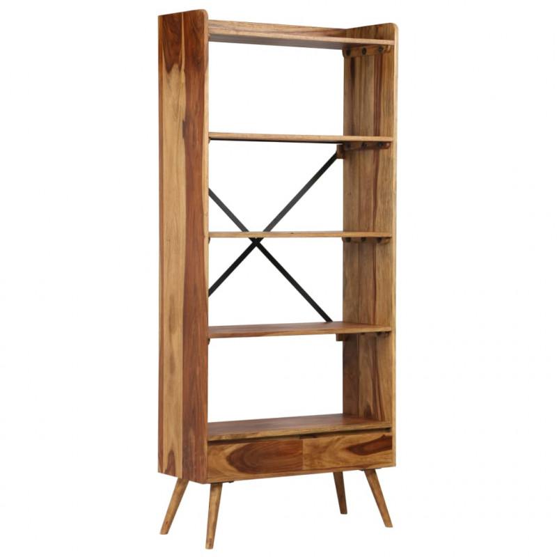 VidaXL - Arredamento Casa Libreria in legno massello di sheesham ...