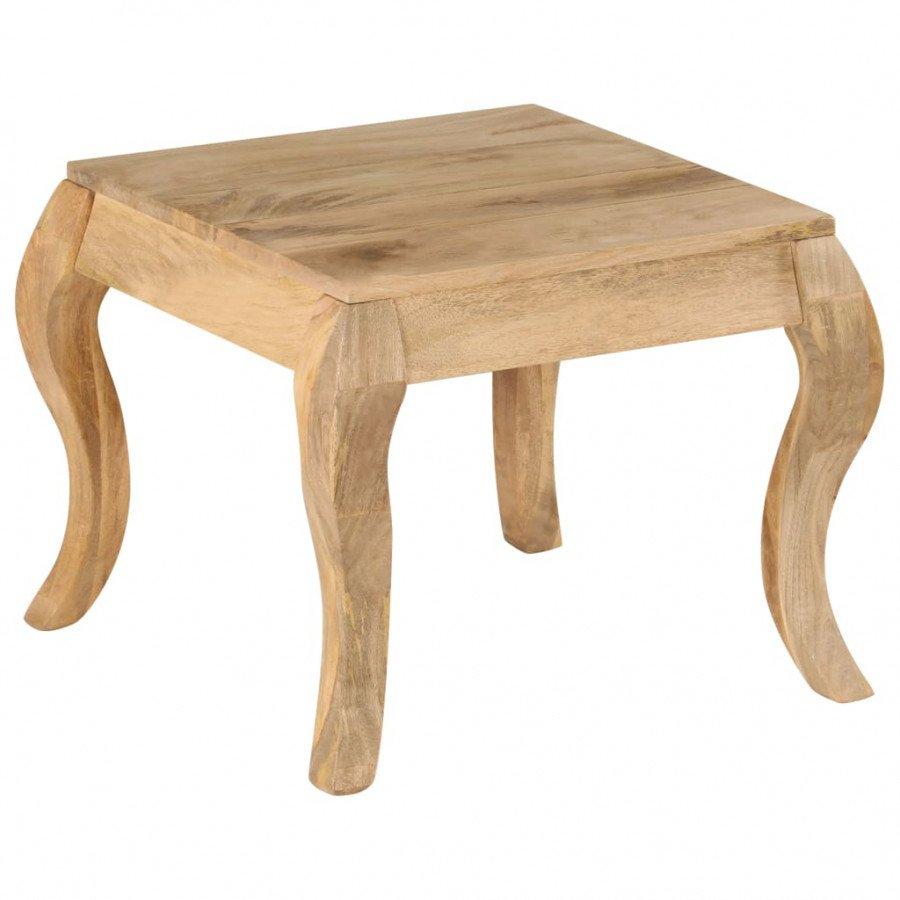 Tavolini Da Salotto Legno Massello.Vidaxl Arredamento Casa Cucina Tavolino Da Salotto In Legno Massello Di Mango 45x45x40cm