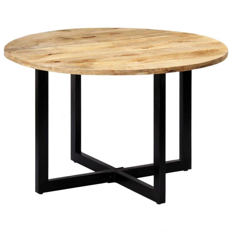 vidaXL Mesas Mesa de comedor madera maciza de mango 120x73 cm