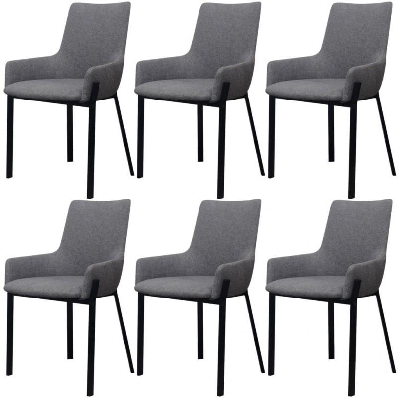 VidaXL - Arredamento Casa Vidax sedie per sala da pranzo 6 pezzi in ...
