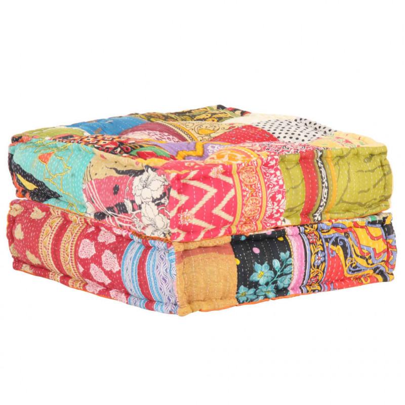 Tissu PVC Haute r/ésistance Colours Rouge Textilhome . 75x75x120 cm Pouf sac XL moulable Double rebond - Inclut Le remplissage des billes de polystyr/ène
