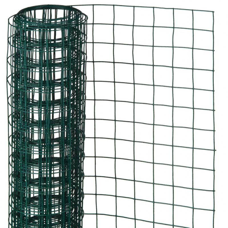 Rete Plastica Per Giardino.Nature Arredo Giardino Rete Quadrata 1x5m 13mm In Acciaio