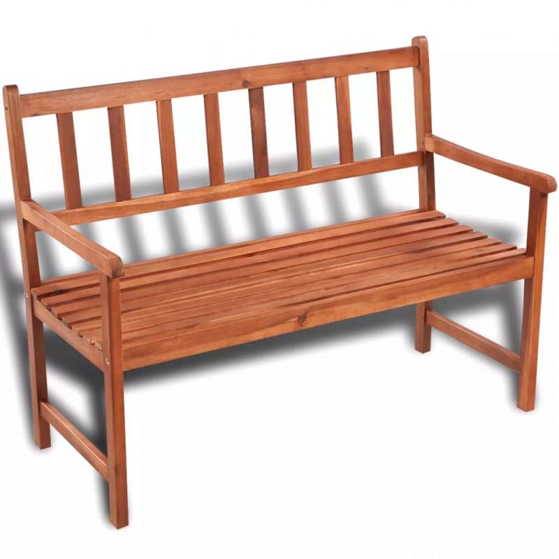 VidaXL VX41448 Banc de jardin classique en bois - VX41448 - Epto