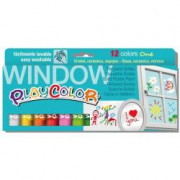 PLAYCOLOR CF12 TEMPERA SOLIDA PLAYC WINDOW AS