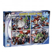 The Avengers - 4x100 pz Bumper Pack