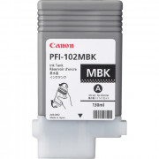 Canon PFI-102MBK CARTUCCIA NERO OPACO PER IPF 500 GRAFICA 130ML        IN
