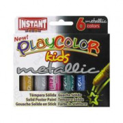 PLAYCOLOR METALLIC CF6TEMPERA SOL 10GR METAL