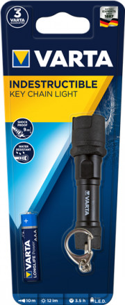 INDESTRUCTIBLE KEY CHAIN LED 1 AAA