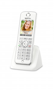 FRITZ!Fon C4 International Telefono DECT Bianco