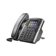 VVX 401 Skype for Business Cornetta cablata 12linee TFT Nero telefono IP