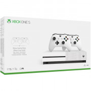 XBOX ONE S 1TB + 2 CONTROLLER WLESS