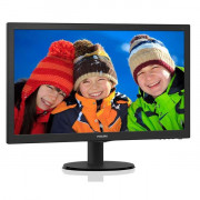 Philips 23,6in LED MVA, 1920*1080, 16:9, 178¿ / 178¿, 250 cd/m¿, hdmi, dvi, vga, 8ms, ve