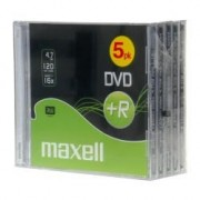 275522 DVD+R 4.7GB 16X JEWELL C. CF.5 F