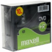275631 DVD+R 4.7GB 16X SLIM CASE CF.10 F