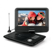 "TS5052 DVB-T2 HEVC Portable DVD player Convertibile 9"" Nero"
