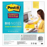 BN11-EU SUPER STICKY BIG NOTES GIALLO