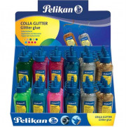 DISPLAY 36 COLLE GLITTER GLUE COLORI 60ML