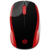 2HU82AA HP 200 RED WIRELESS MOUSE PC TASTIERE E CONSUMER