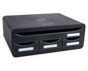CASSETTIERA TOOLBOX  MINI NERO