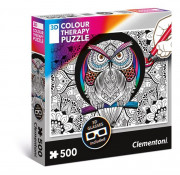 Therapy Puzzle 3D Owl COLOUR-OWL
