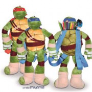 ZAINO PELUCHES NINJA TURTLES