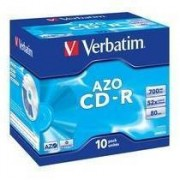 Verbatim 43327 CDR DATALIFE PLUS 80 52X CONF.10 ) CD-R MIN.