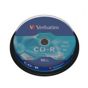 43437 CDR EXTRA PROT.700MB SPINDLE 10PZ S Cd-r 80 Min.
