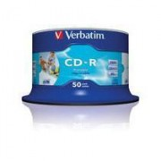 Verbatim 43438/50 SPINDLE 50 CDR INT.STAMP.52X S CD-R 80 MIN.